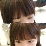 たった1分でできる印象アップ前髪の作り方