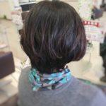 ショートボブ (50代)  盛岡の美容師が作る美シルエット