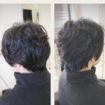 【メリハリ美シルエット】ショートスタイル 盛岡 神明町 美容師が作る