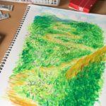気分転換に何してますか? 竹沢は絵を描いてみました。