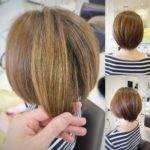 これで白髪も気にならない‼︎ ハイトーンカラー×ショートヘア