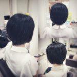 【前上がり×ショート】美シルエット 盛岡 美容師が作る大人ショートヘア