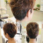 ショートスタイルで女性らしさを出すポイントはココです!! 盛岡 美容師 大人ショートヘア