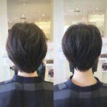 冬に向けてのショートヘアは、えりあし引き締めで決まり! 盛岡 美容師が作る
