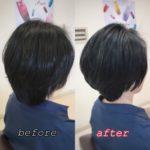 【秋冬シルエット】厚み&丸みショート 盛岡 美容師が作る大人ヘア