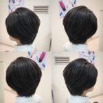 久しぶりにご来店のお客様を美シルエットショートに☆ 岩手 盛岡 美容師が作る大人ショートヘア