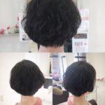 軟毛細毛にはエアウェーブ☆大人の素敵なパーマショートスタイル / 岩手 盛岡 美容師が作る大人シヘア