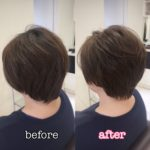髪切って気分チェンジしましょっ☆ 岩手 盛岡 美容師が作る大人ショートヘア