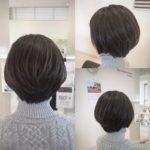 大人女性のふんわり春ショート☆ 岩手 盛岡 美容師が作る大人ショート