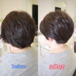 大人のショート刈り上げはこう作る☆ 岩手 盛岡 神明町 美容師が作る大人ショートヘア