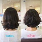 エアウェーブで夏の軽やかふんわりショート☆岩手 盛岡 美容師が作る大人ショート