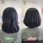 クセ毛を生かす!! 美シルエット×ボブスタイル /岩手 盛岡 神明町 美容師が作る大人ショートヘア
