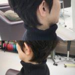 【タートルネック着る方におすすめ☆】冬ショートのえりあしは、短めで決まり!!