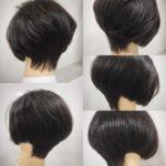 グラデーションボブを極める‼︎ 盛岡美容師大人女性のショートスタイル得意