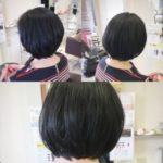 岩手盛岡で大人の長めショートに☆ ショートヘアは姿勢がきれいに見える!