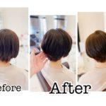 岩手盛岡でクセ毛のショートヘアを素敵に作る☆ クセは直すよりも収める!