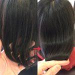 髪のふくらみ防止に髪質改善☆
