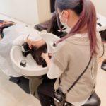 ヘッドスパを究める! 美容師のこだわり技術を習得中☆