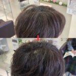 岩手盛岡で大人女性に似合うナチュラルパーマ×ショートヘア ☆ トップのふんわり感で素敵になれる
